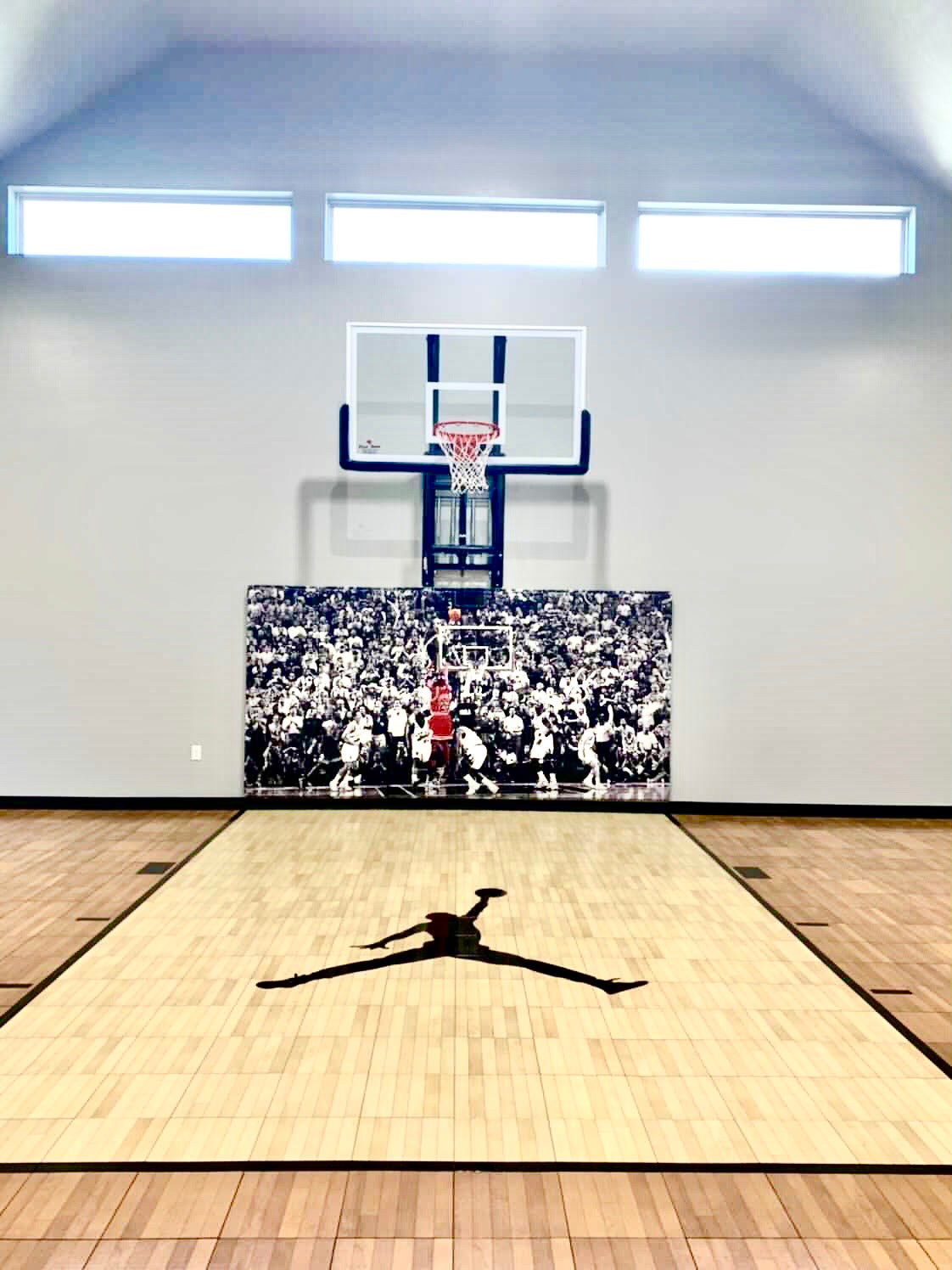 Basketball Home Court Wall Pads Michael Jordan