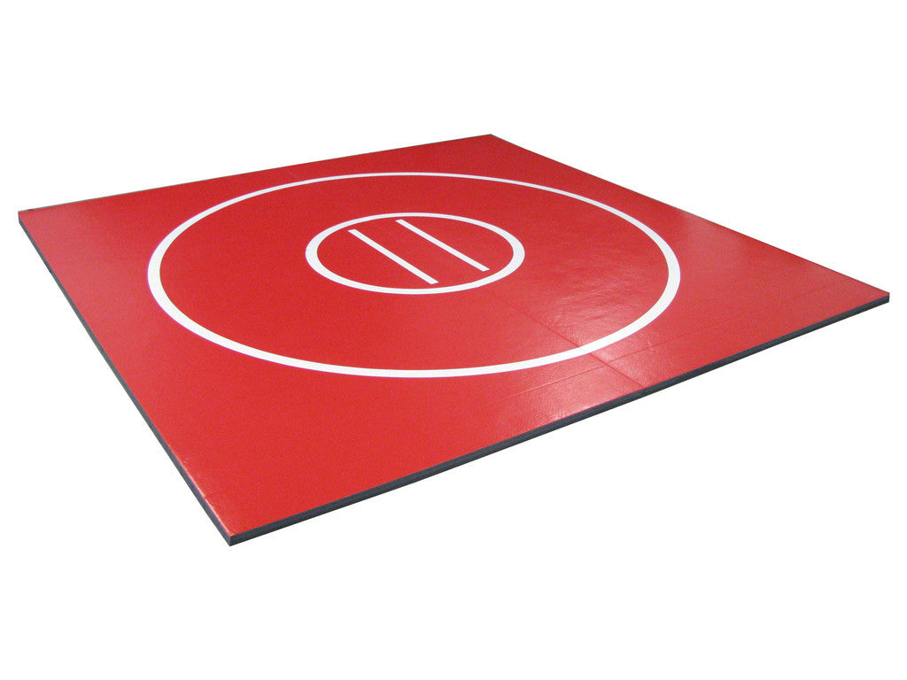red wrestling mat for sale