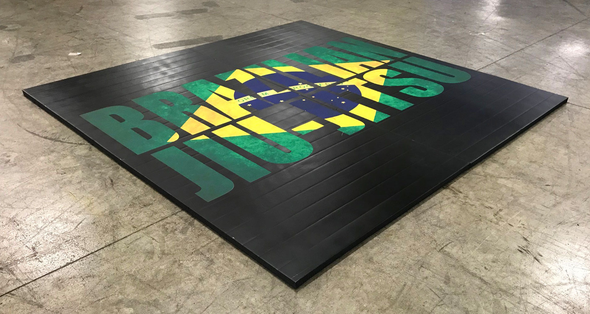 BJJ Lightweight Easy Roll Floor Mat