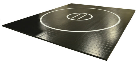 "15' x 15' x 1 3/8"" Roll-Up Wrestling Mat"