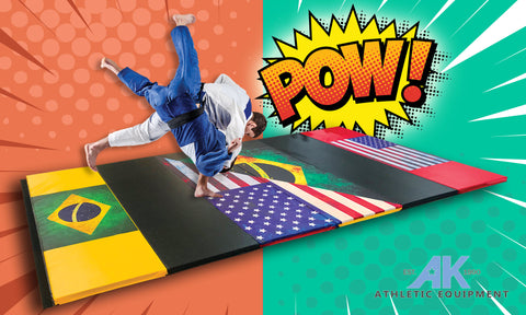 Holiday Shop Ultra Shock Absorbent  Brazilian Jiu Jitsu Grappling Mat 6' x 12' x 2""