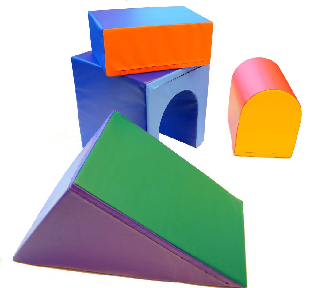 Soft Play Climb And Play Block Set Ak Athletic Equipment