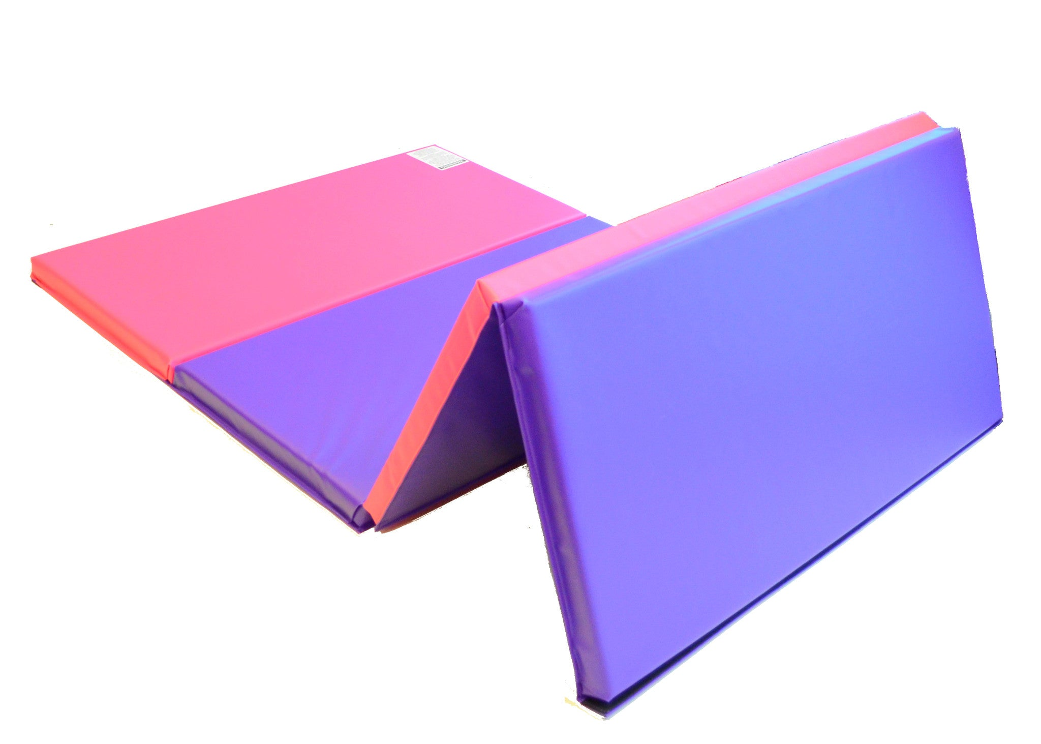 "Folding  4' x 8' x 2"" Gymnastics Mat  Intermediate Level"