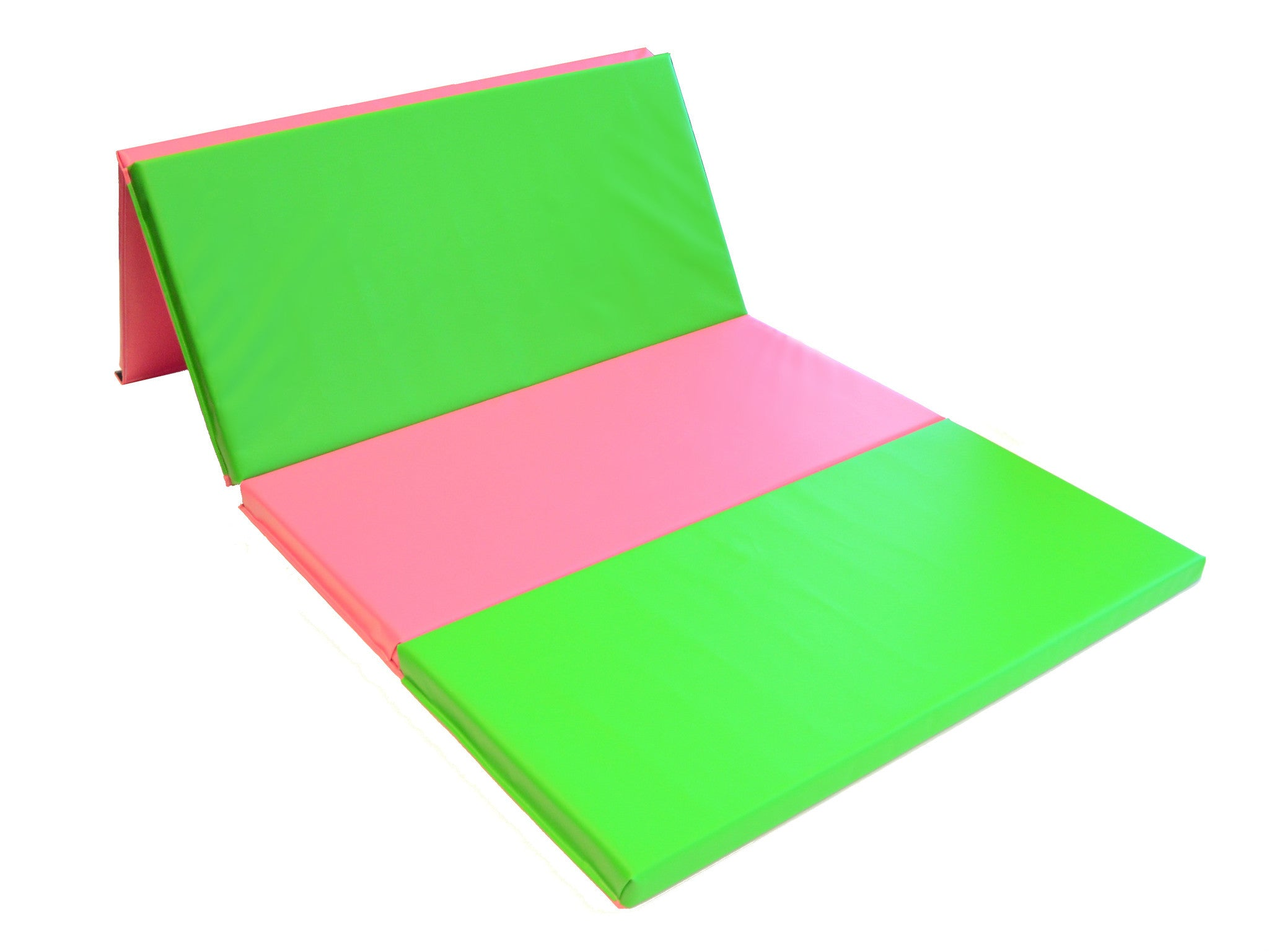 Green and Pink Tumbling Mat