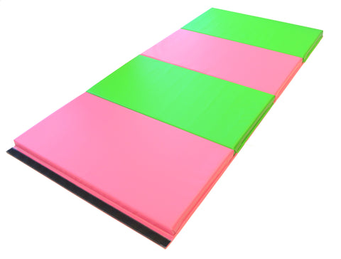 "40"" x 80"" x 1 3/8"" Intermediate Level Folding Gymnastics Mat"