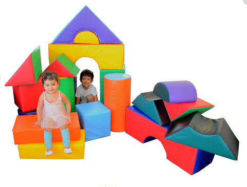 Soft Play 21-Piece Block Set