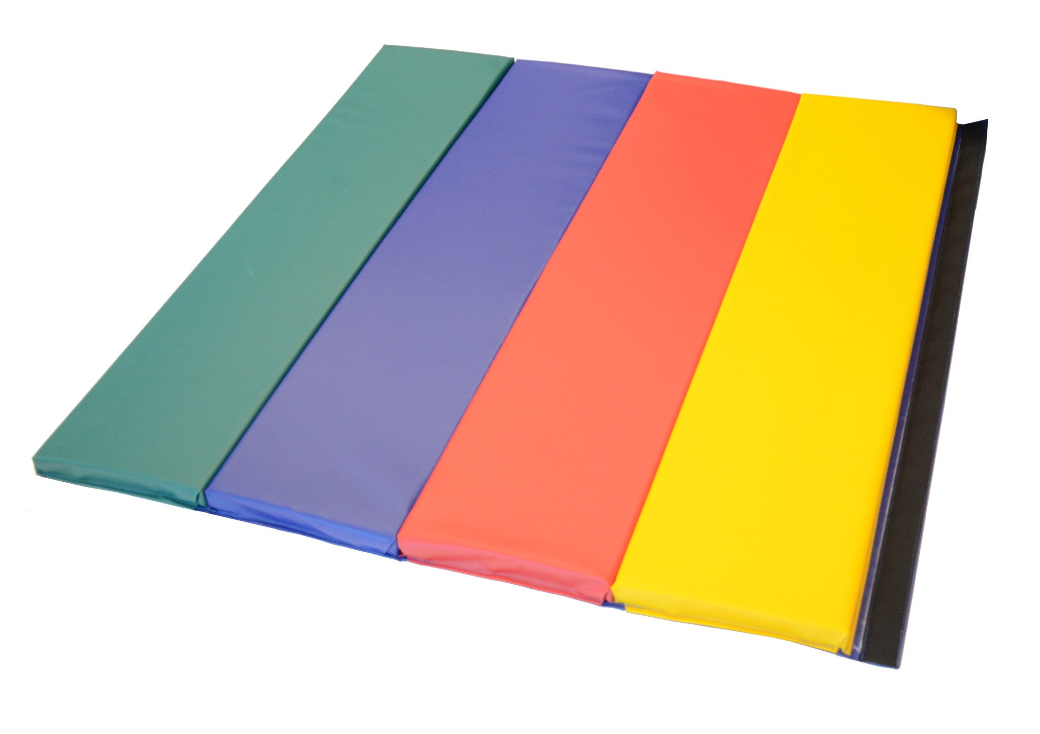 "4' x 4' x 1 3/8"" Rainbow Folding Activity Mat"
