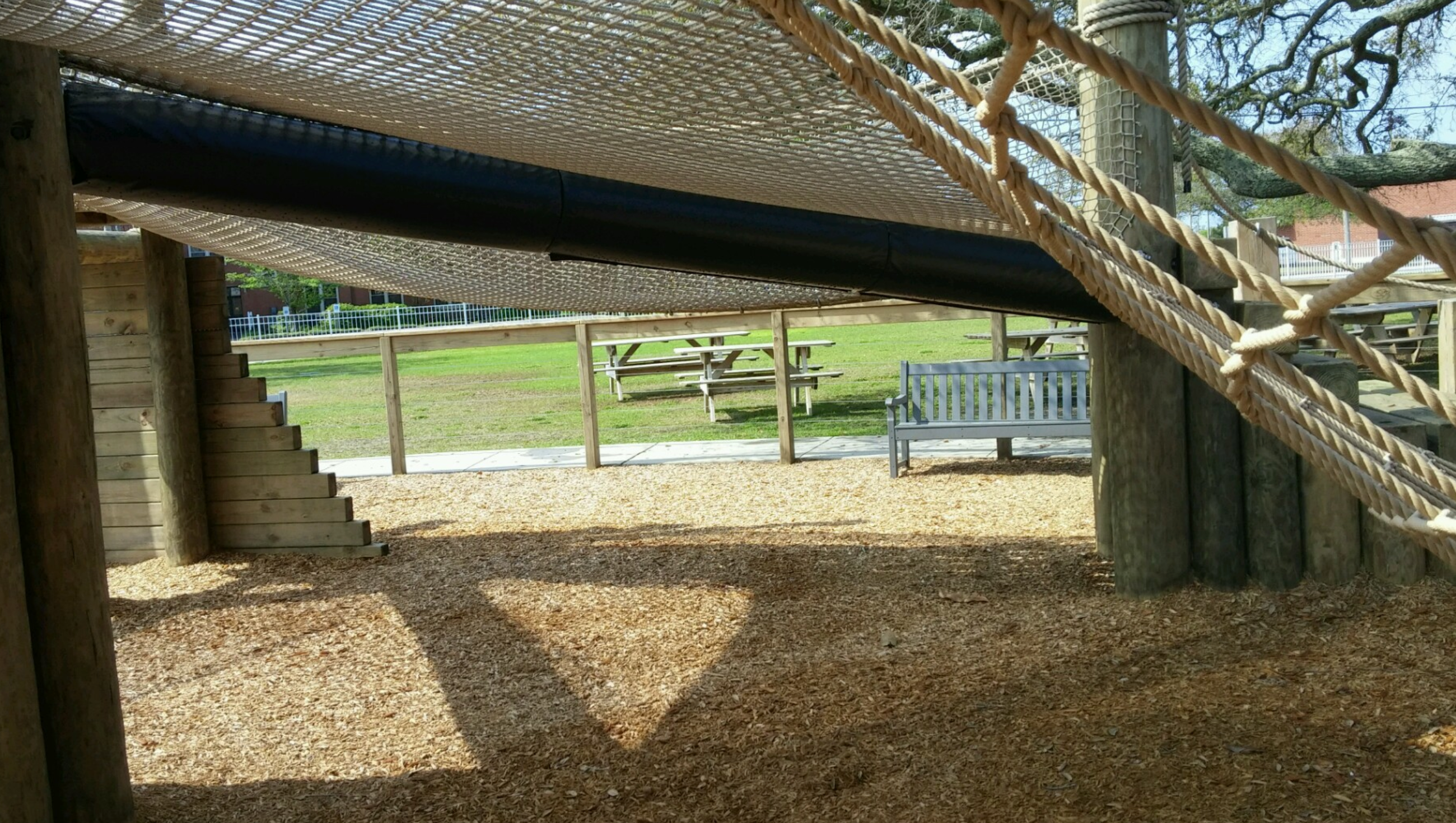playground post padding