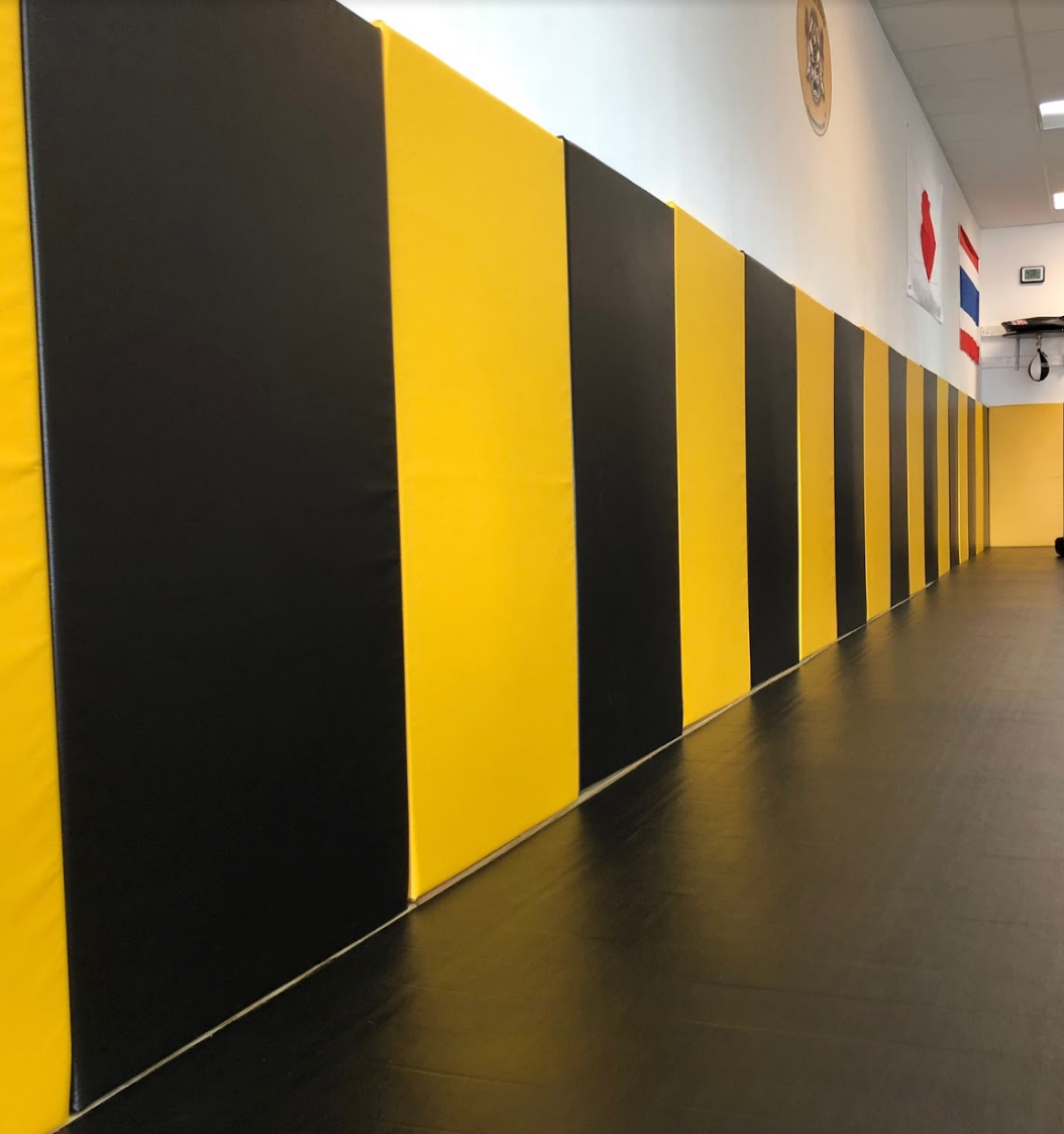 Jiu Jitsu Gym with AK Athletics Wall Padding