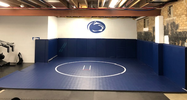 AK Athletic Equipment Wrestling Room Wall Padding