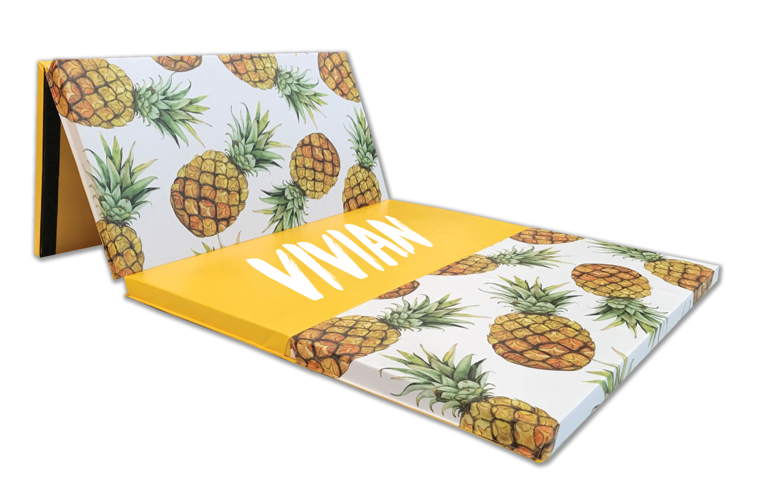 Pineapple 4' x 8' Folding Gymnastics Mat