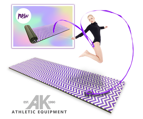 AK Athletics new lightweight gymnastics competition mat
