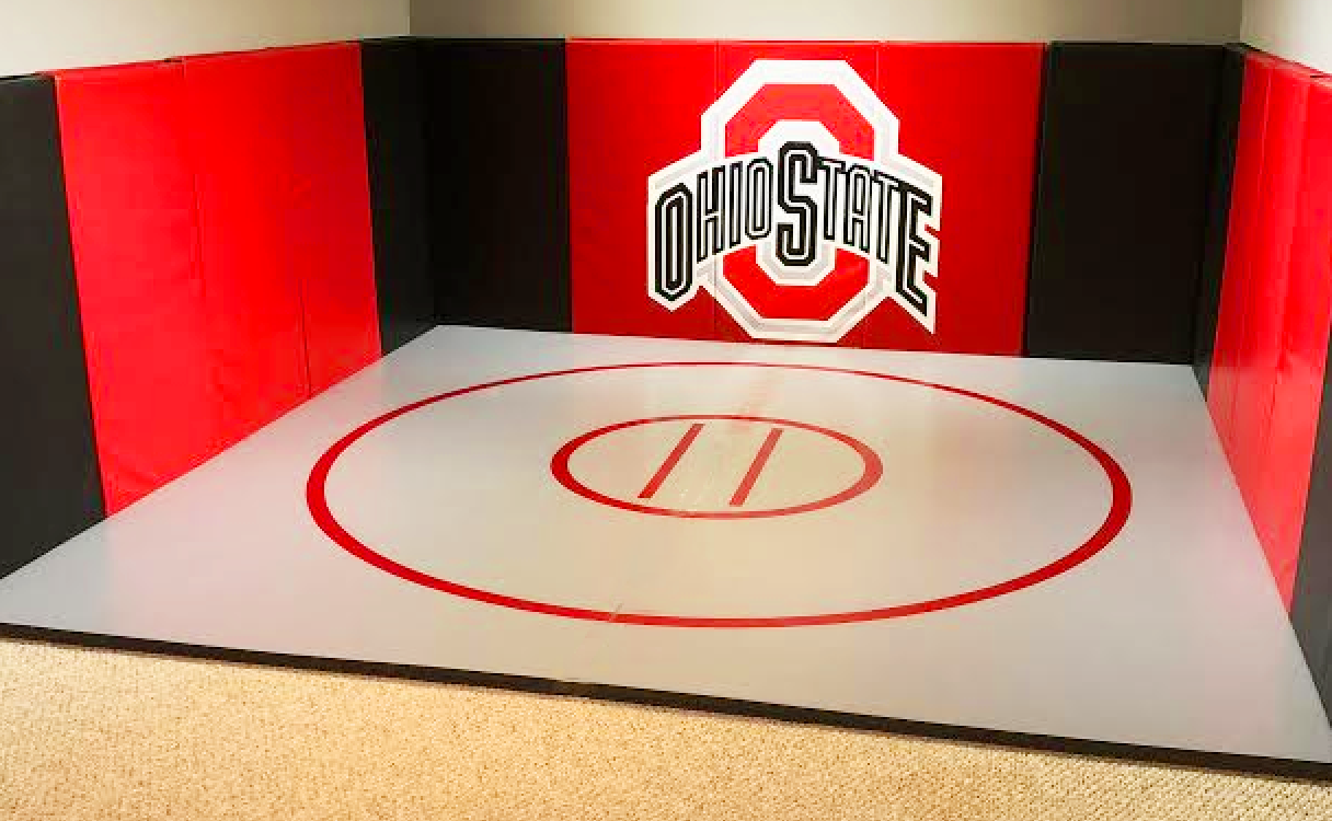 home wrestling room mats
