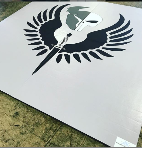 digitally printed mma mat