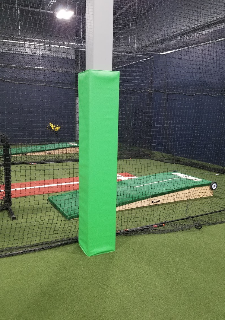 lime green baseball pole pad for sale AK Athletics