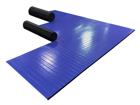 14' grappling blue ak athletics wrestling mat