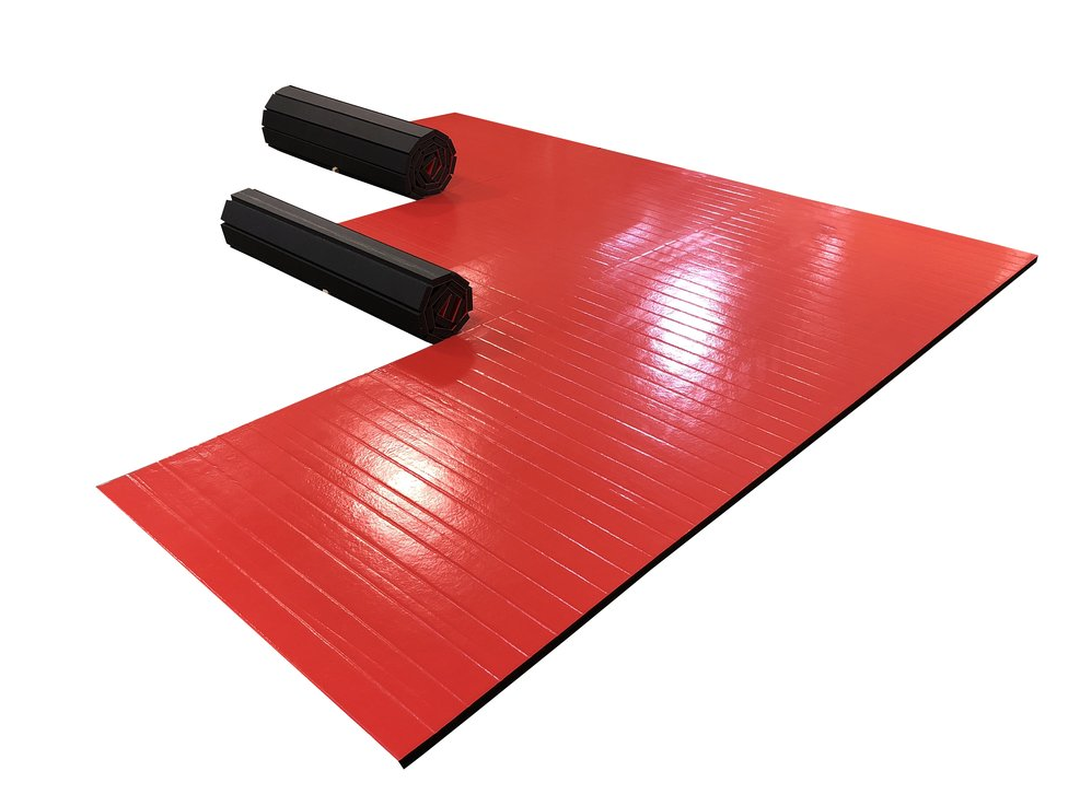 roll up mma mat