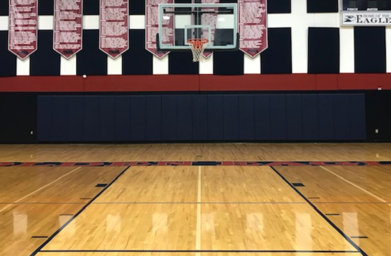 Class A FlameSafe Wall Padding For Gymnasium AK Athletics