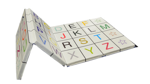 "4' x 8' x 2"" Alphabet Fun Tumbling Mat"