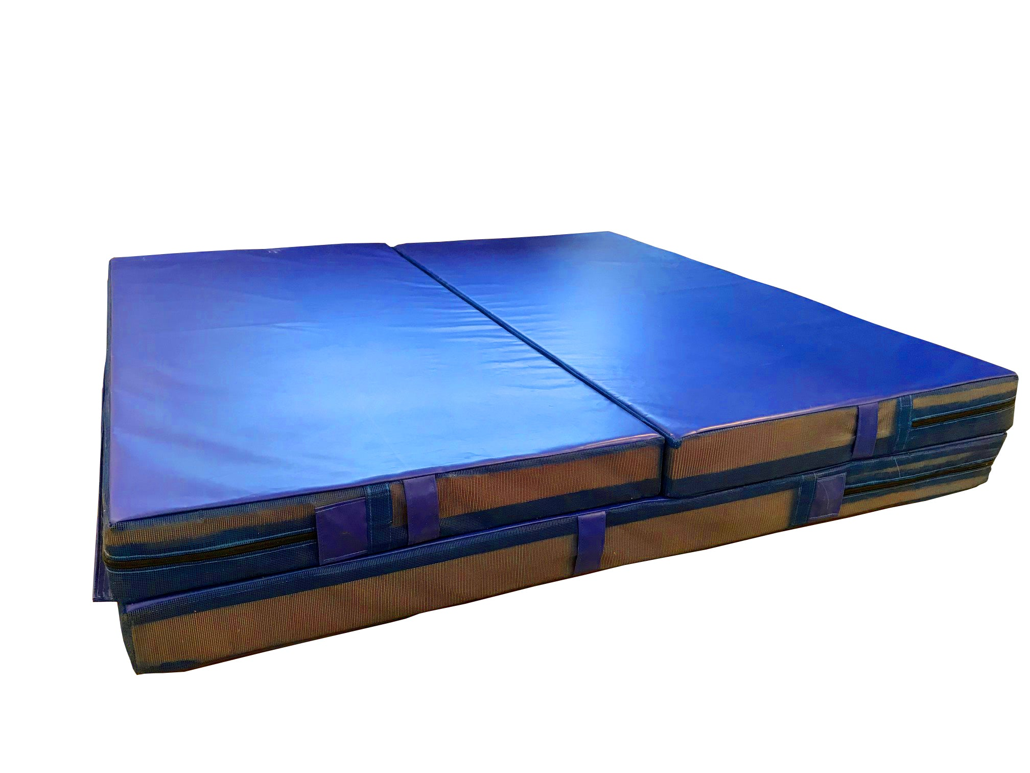 "Clearance Royal Blue 6' x 12' x 5"" Competition Landing Mat"