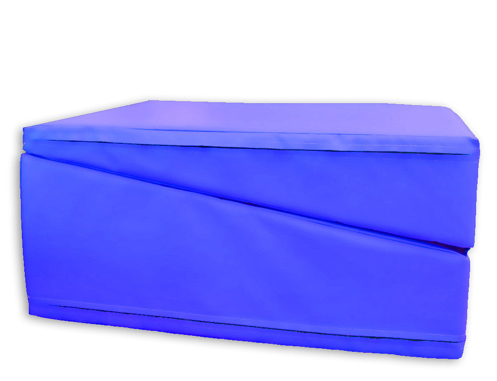 "29""x 72""x14"" Folding Triangle Incline Wedge Mat"