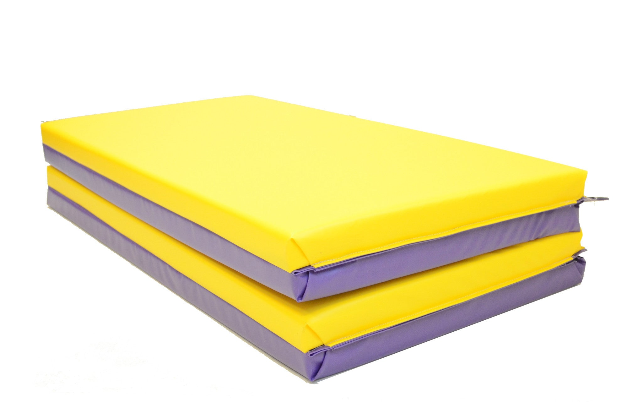 Purple and Yellow gym Mat