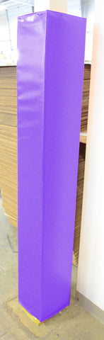 "4' Tall Four Sided Column Pad, 8"" - 11"" Side Width"