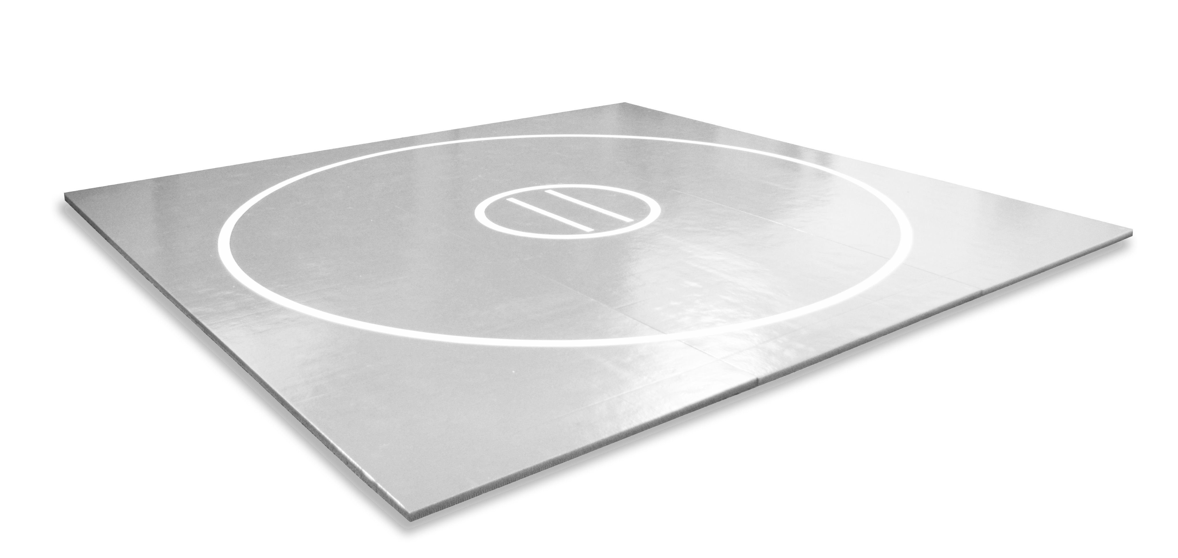 gray roll up mma mats