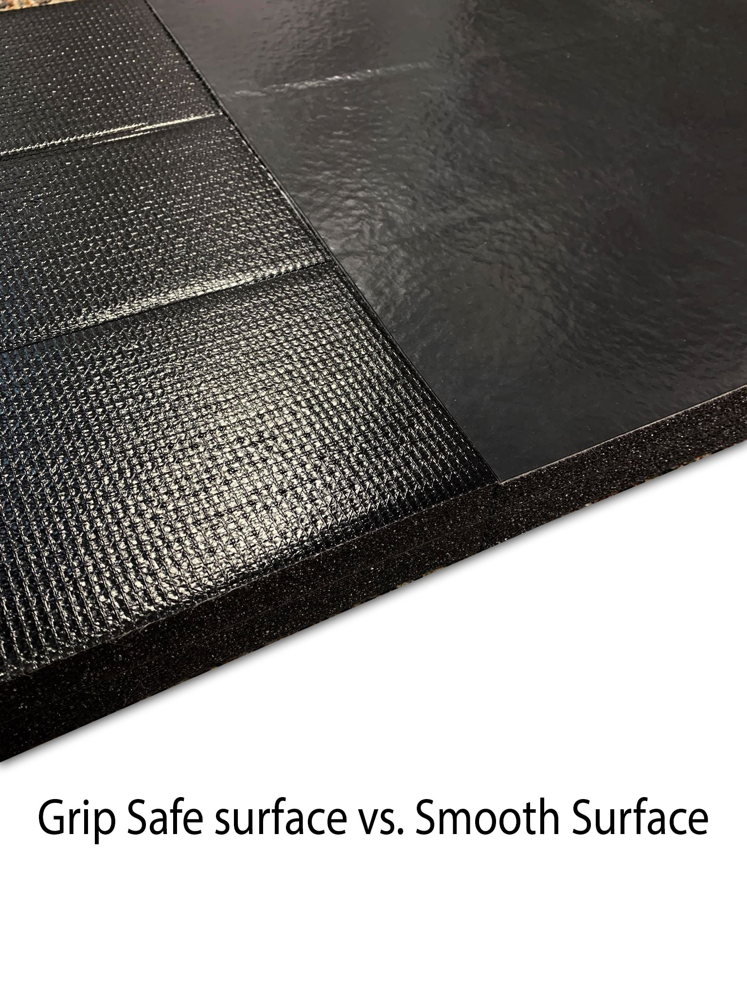 Grip Safe grappling mats vs. Smooth grappling mats