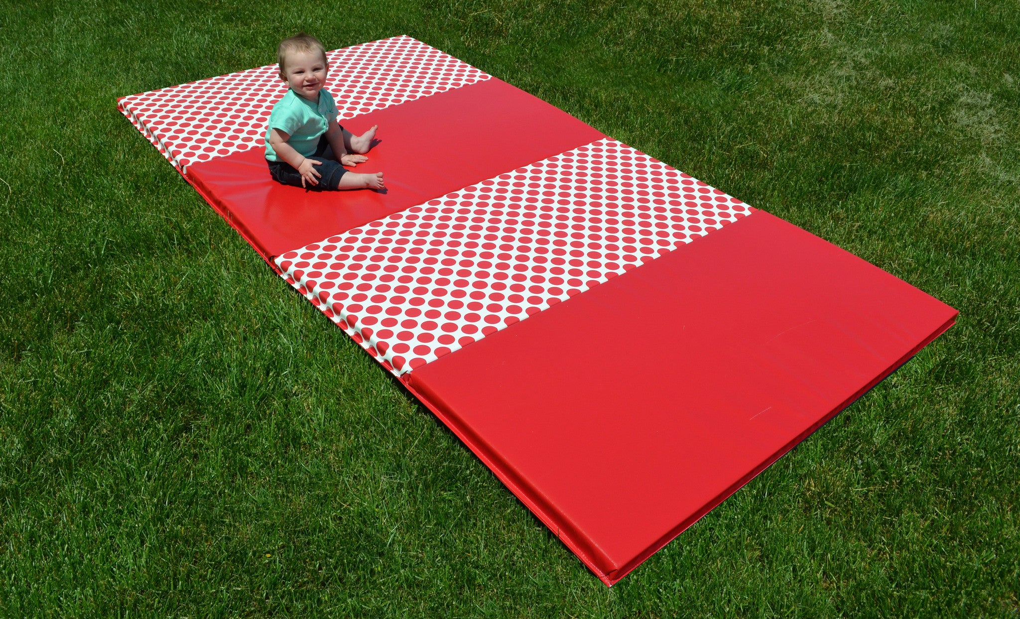 Build Your Own Polka Dot Mat  4' x 8'