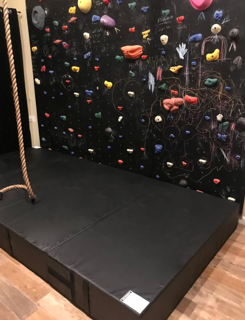climbing wall landing mat, mat for bottom of climbing wall