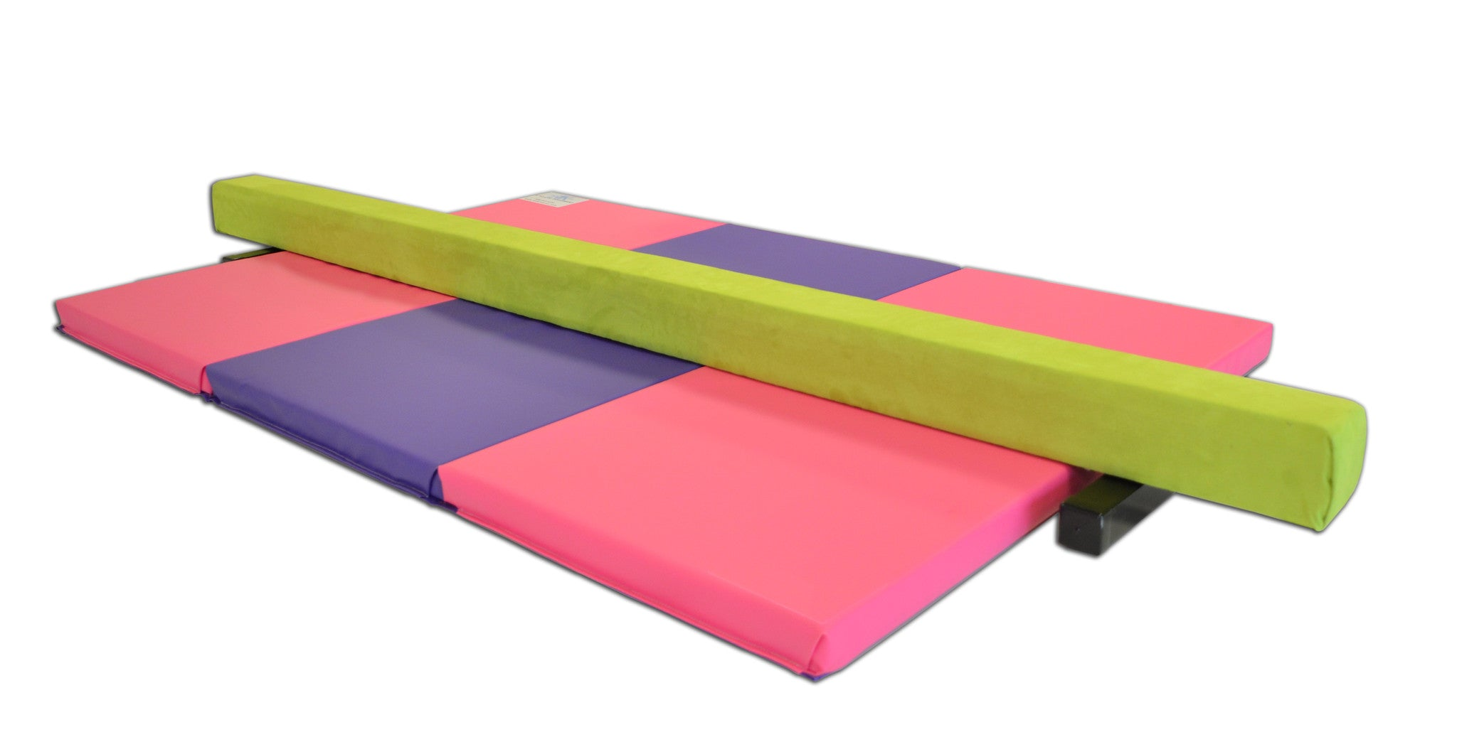 Mini Competition 8ft Suede Balance Beam Ak Athletic