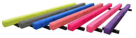 Multiple color home practice balance beams
