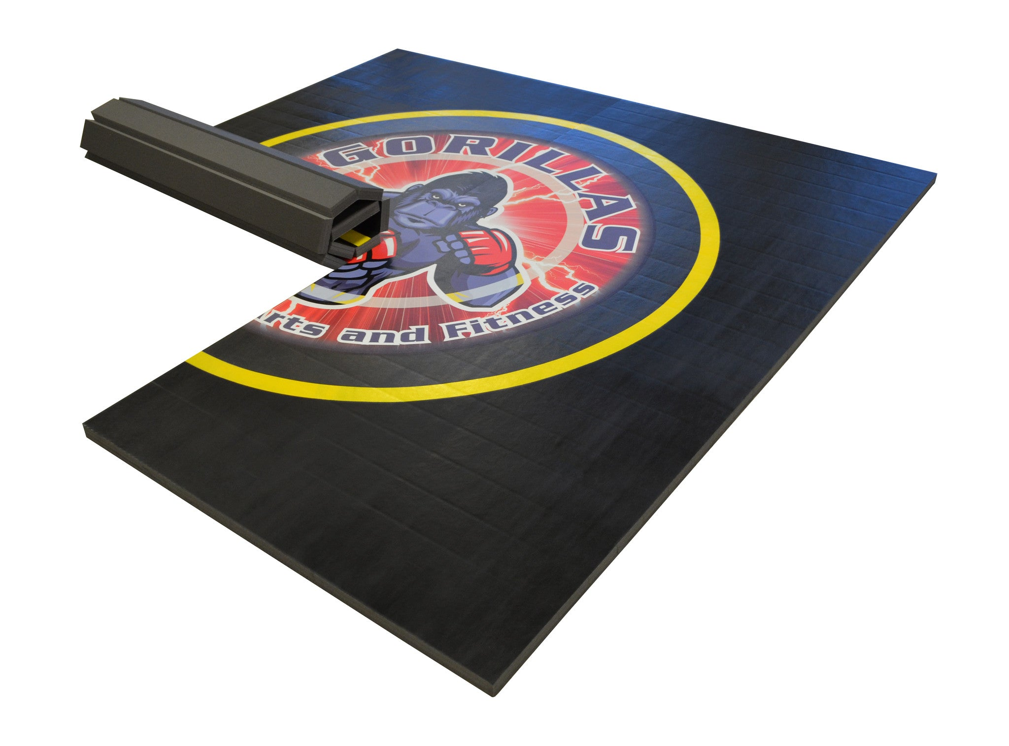 Add Your Logo On Wrestling Mat