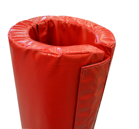 "4' Tall Pole Pad, 10"" Diameter with Closure Flap"