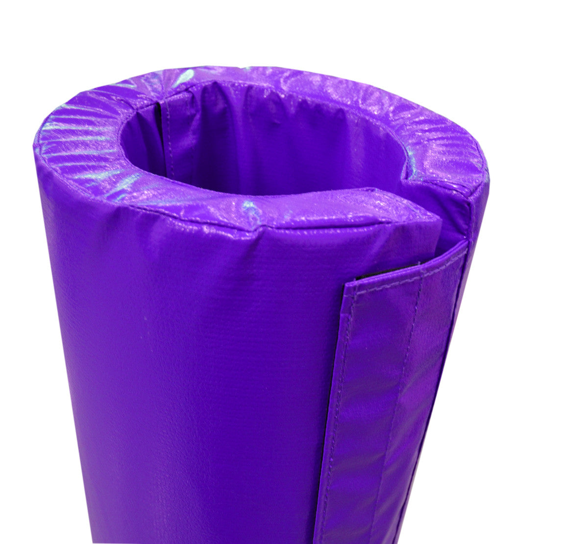 "4' Tall Pole Pad, 2"" Diameter Velcro Attached"
