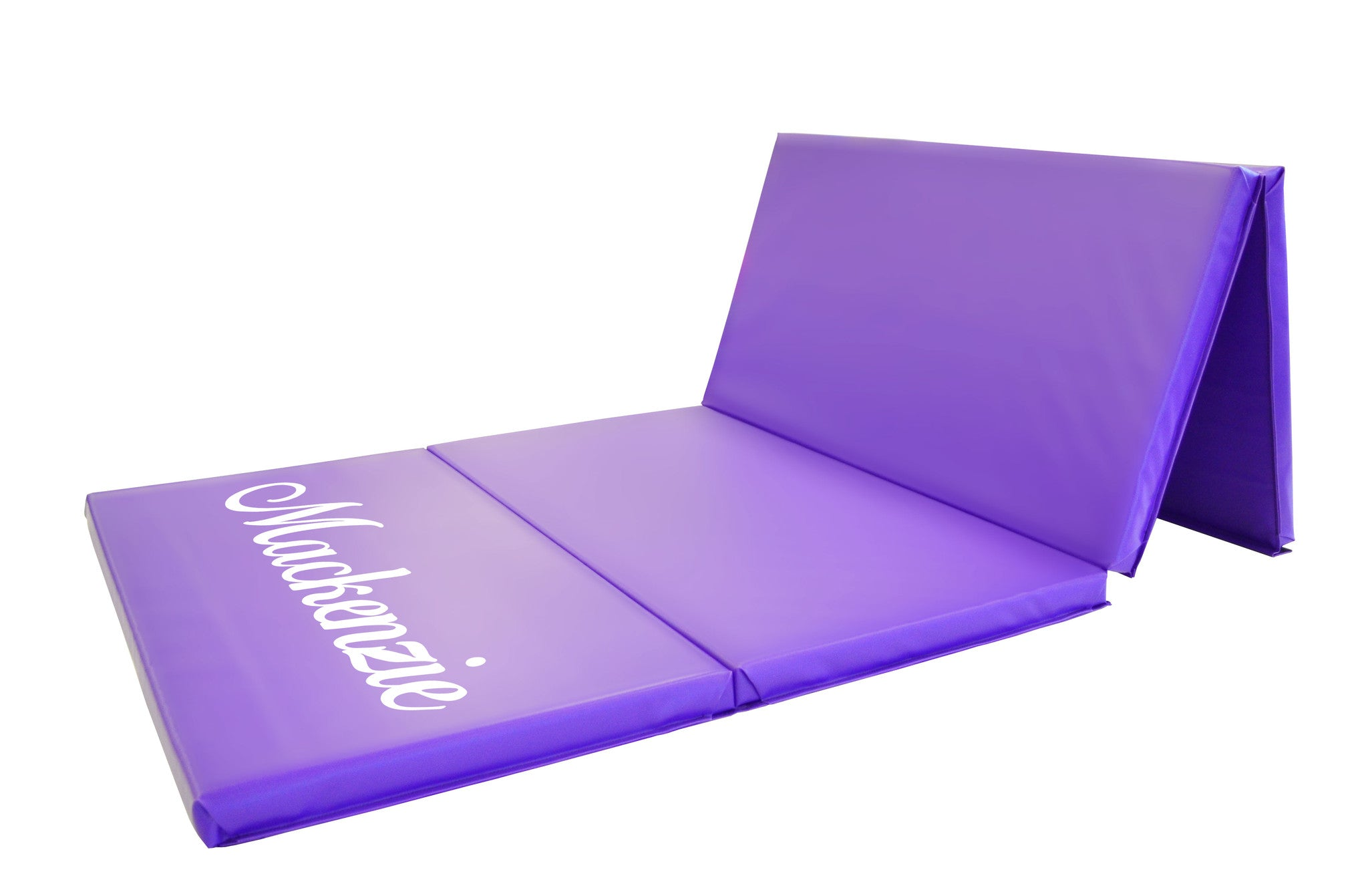 AK Athletics Purple Folding Gymnastics Mat with Name