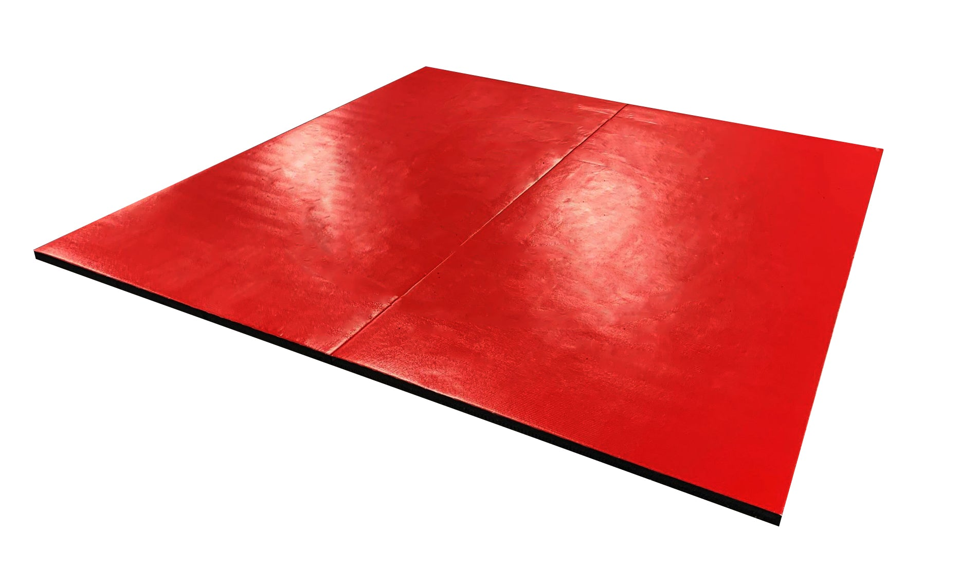 "Grip Safe 8' x 8' x 1 3/8"" Roll-Up Wrestling Mat"