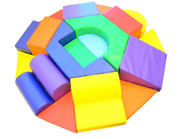 Hexagon Toddler Soft Play Climber Ak Athletic Equipment
