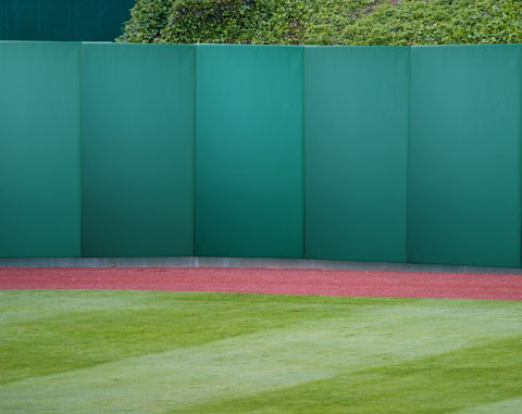 "Professional Quality Baseball Stadium Outfield 3"" Thick Outdoor Wood Backed Panels"