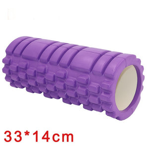 Yoga Column Fitness Foam Yoga Pilates Roller blocks Train Gym Massage Grid Trigger Point Therapy Physio Exercise