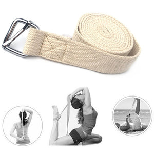 Yoga Accessories 183CM Adjustable Ring Gym Waist Sport Yoga Stretch Strap Leg Fitness Belt Essential For Yoga Training