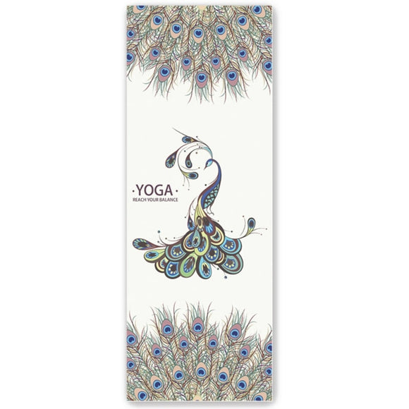 New Eden Ultra-Thin Yoga Mat Non-Slip Sweat-Absorbent Folding Portable Padded Yoga Blanket Towel Yoga Towel