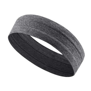 Sports Yoga Sweatband Unisex Elastic Gym Cycling Basketball Sweat Headband Women Men Fitness Breathable Safety Hair Band