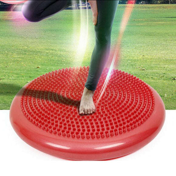 Yoga massage cushion mat Universal Inflatable Yoga Wobble Stability Balance Disc Massage Cushion Mat Yoga Fitness Balls