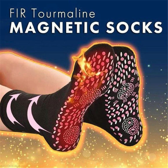 1 Pair Self Heating Health Socks Care Breathable Magnetic Socks Self Heating Therapy Warm Tourmaline Socks Pain Relief health #K