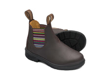 Lade das Bild in den Galerie-Viewer, Blundstone Boot Kinder- brown stripe