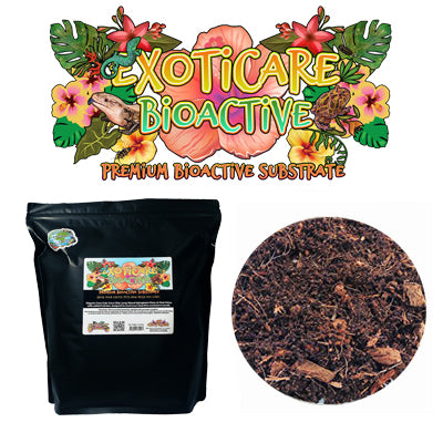 Exoticare Bioactive Substrate - Complete Mix for Bioactive Setups