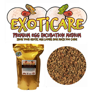 Exoticare Premium Reptile Egg Incubation Medium