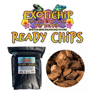 Ready Chip Organic Coconut Husk Chip Reptile Bedding